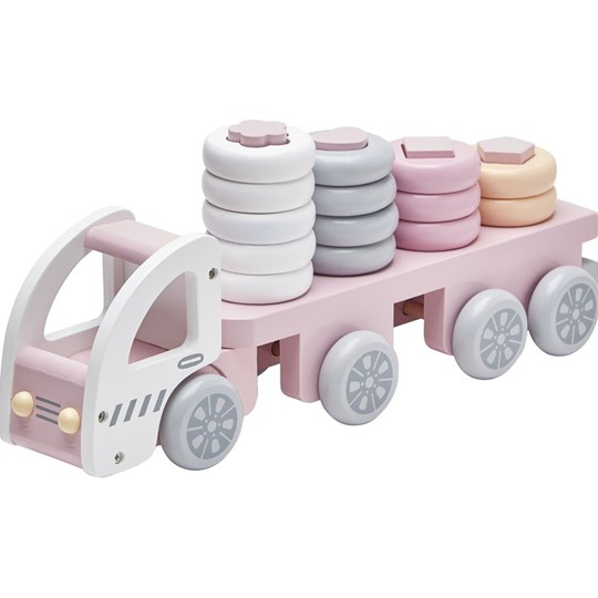 Kids Concept Sorting Truck Pink Pink