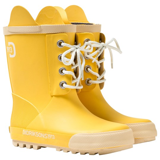 60ae4fda17e Didriksons - Splashman Kid's Boots Yellow - Babyshop.no