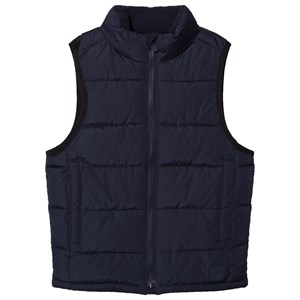 Image of GAP True Indigo Puffer Gilet XS (4-5 år) (3058031381)