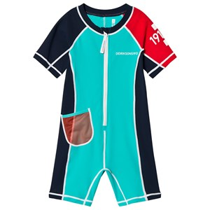 Image of Didriksons Reef Swimming Suit Pale Turquoise 100 cm (3015417915)
