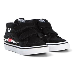Vans Black Monster Face SK8-Mid Reissue V Shoes