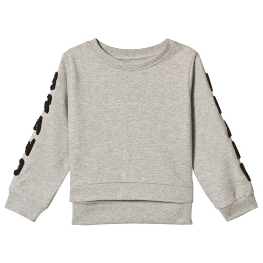 The BRAND Terry Fur Sweater Grey Melange