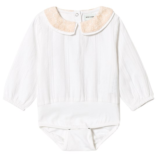 Mini A Ture Dalina Shirt Baby Body White White