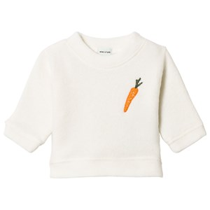 Image of Mini A Ture Jannic Sweatshirt Antique White 80 cm (9-12 mdr) (3058031031)