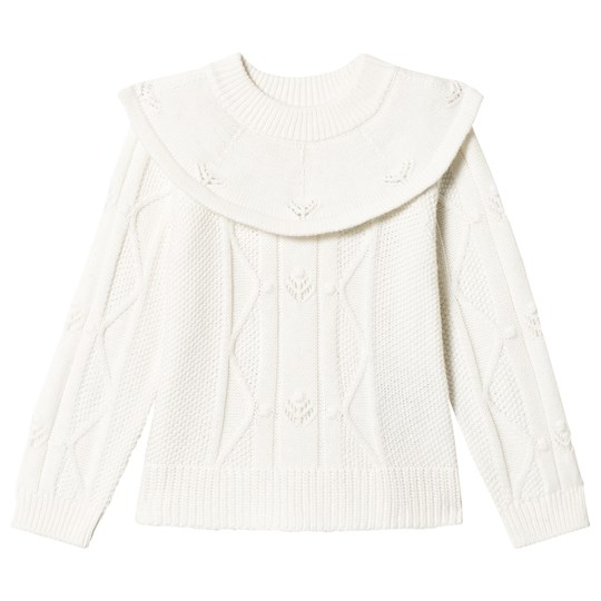 Mini A Ture Trisha Sweater White White