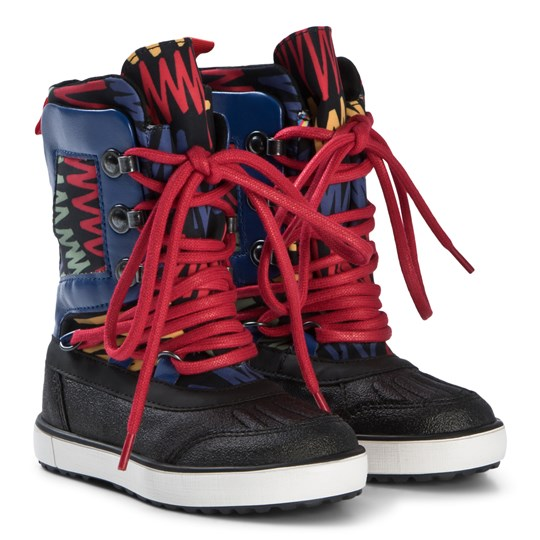 Stella McCartney Kids Multicolor Ski Boots 1083 - Scribble Ski Pr