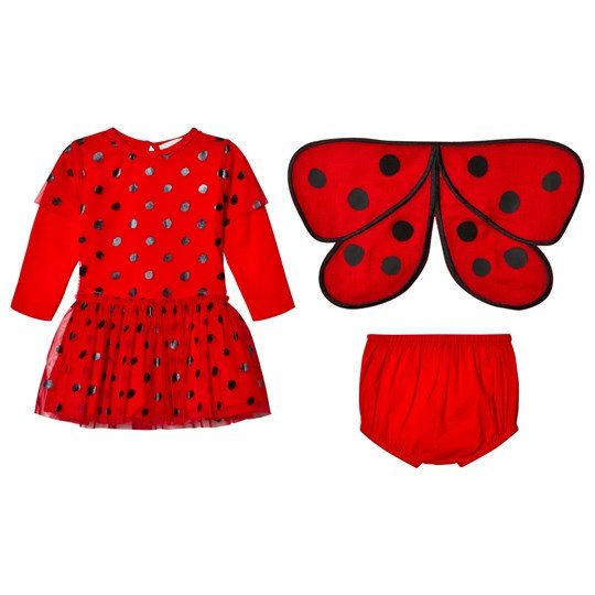 a372d76e6 Stella McCartney Kids - Red Ladybug Dress - Babyshop.com