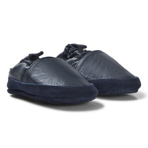 Image of Melton Loafer Leather sko Blue 18-24M 23-24 (3058027351)