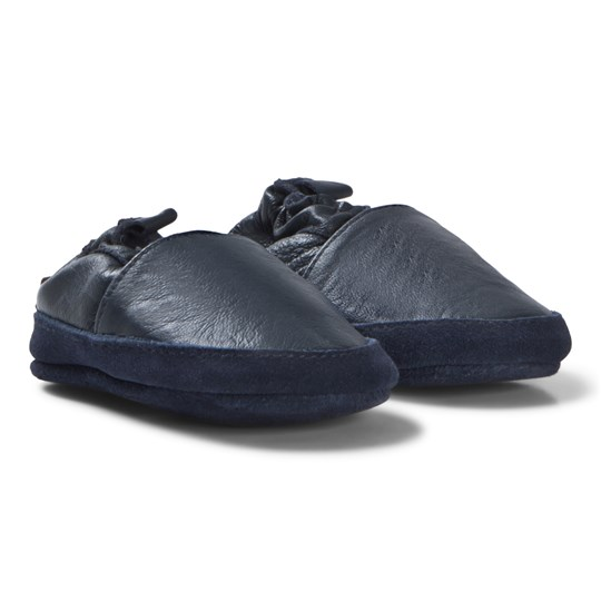 Melton Loafer Leather Shoes Blue Blue Nights