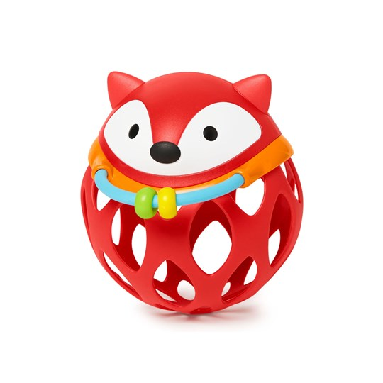 Skip Hop Explore & More Roll-Around Rattle Fox Red