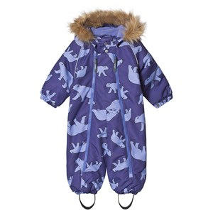 Image of Ticket to heaven Baggie Snowsuit Allover Deep Wisteria Purple 74 cm (6-9 mdr) (1194906)