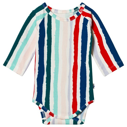 Noe & Zoe Berlin Multi Stripe Print Long Sleeve Body WINTER STRIPE