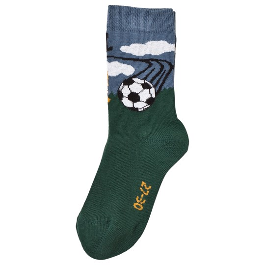 Melton Socks Football Green pine green