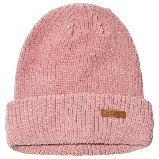Barts Pink Veloucha Chenille Beanie Pink
