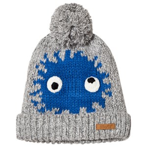 Image of Barts Blue and Grey Funny Eye Geri Beanie 50cm (18 months- 3 years) (3058848011)