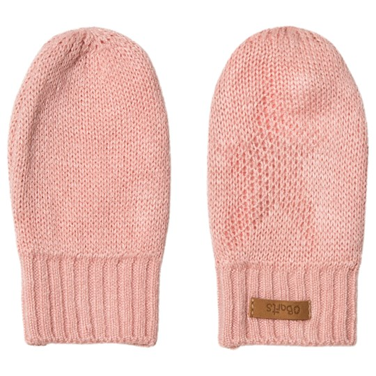 Barts Light Pink Goldie Mittens Dusty Pink