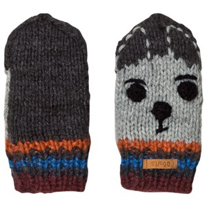 Image of Barts Dark Grey Bouly Mittens 0 (0-12 months) (3058848889)