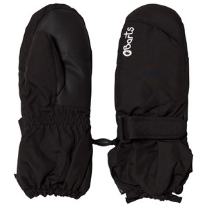 Image of Barts Black Tec Mittens 6 (10-12 years) (1140649)