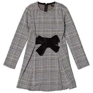 Bilde av Bardot Junior Bardot Junior The Grey Kenna Jacquard Dress 14 Years