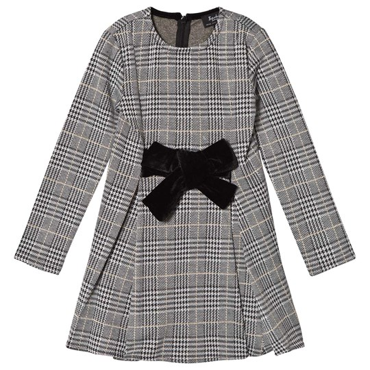 Bardot Junior Bardot Junior the Grey Kenna Jacquard Dress Check