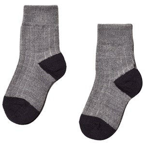 Image of FUB 2-Pack Socks Grey 19-21 (9-12 mdr) (3058847989)