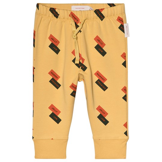 Tinycottons English Domino Fleece Pants Sand sand/red/dark green