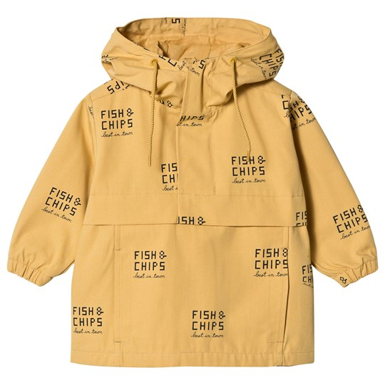 Tinycottons Fish & Chips Pullover Jacket Sand sand/navy