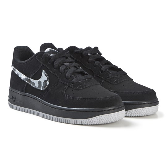 NIKE Black Nike Air Force 1 Shoe 052