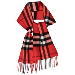 Burberry Red Check Scarf