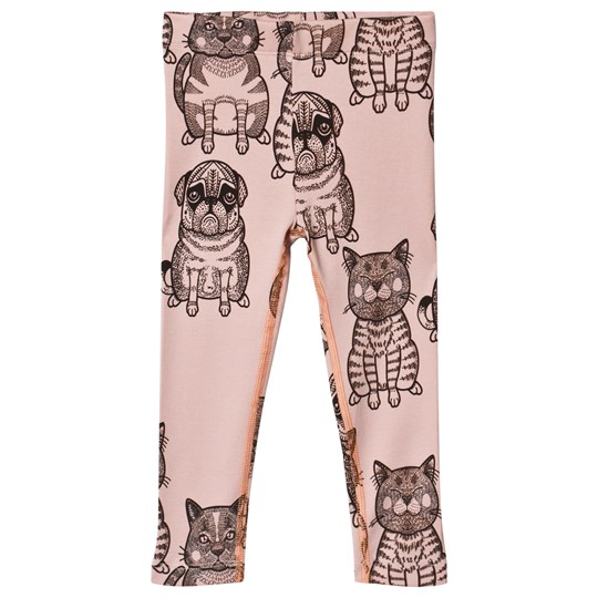 Filemon Kid Cats + Pugs Leggings Cameo Rose Cameo Rose