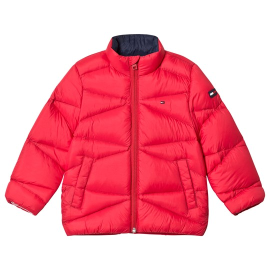 Tommy Hilfiger Red Lightweight Down Padded Coat 633