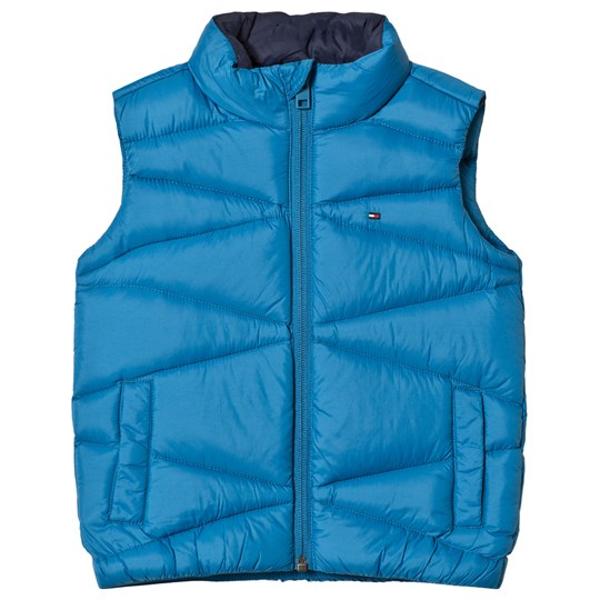 Tommy Hilfiger Blue Quilted Down Gilet 401