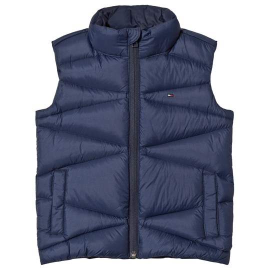 Tommy Hilfiger Navy Quilted Down Gilet 002
