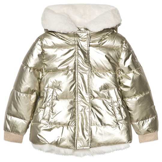 IKKS Gold Hooded Coat 07