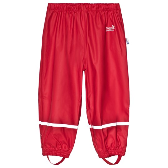 Muddy Puddles Puddleflex Pants Red Red