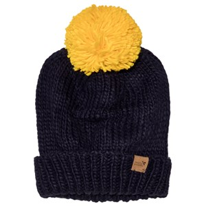 Image of Muddy Puddles Bobble Hat Navy M-L (5-12 years) (3059476535)