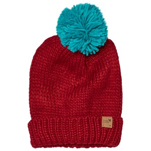 Image of Muddy Puddles Bobble Hat Red M-L (5-12 years) (3059476539)