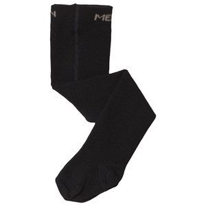 Image of Melton Black Branded Basic Tights 3-4 Years (3143207467)