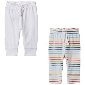 Image of GAP 2-Pack Favorite Stripe Knit Pants Multi Stripe 0-3 mdr (3059478755)