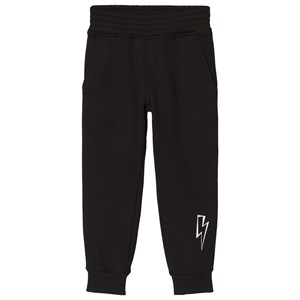 Image of Neil Barrett Black Sweatpants with Lightning Bolt 12 Years (3059476585)