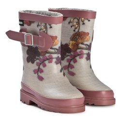 Molo Sigvardt Wellies Flower Embroidery