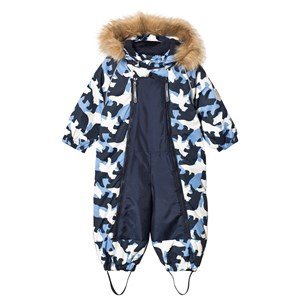 Image of Ticket to heaven Finn Snow Suit Baggie Total Eclipse Blue 74 cm (6-9 mdr) (1194875)