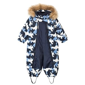 Image of Ticket to heaven Finn Snow Suit Baggie Total Eclipse Blue 74 cm (6-9 mdr) (3059478495)