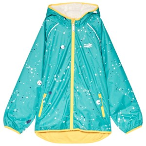 Image of Muddy Puddles EcoSplash Hooded Jacket Baltic Interstellar 7-8 years (3059678397)