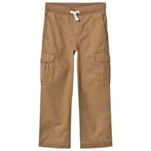 Image of Lands' End Beige Pull Up Cargo Trousers 4 years (3059677351)