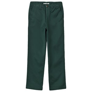 Image of Lands' End Green Chino Pants 10-11 years (3059677669)