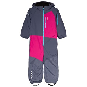 Image of Isbjörn Of Sweden Halfpipe Winter Jumpsuit Denim 110 cm (4-5 år) (3059678011)