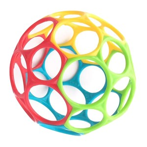 Image of Oball Oball™ Classic™ Ball Yellow/Green/Red 0 - 3 år (3125233277)