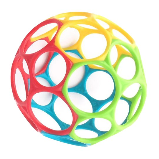 Oball Oball™ Classic™ Ball Yellow/Green/Red Yellow