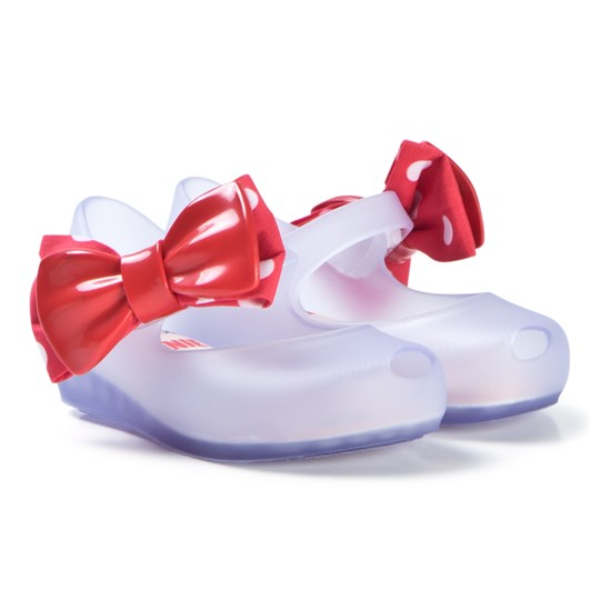 Mini Melissa Clear Contrast Disney Bow Shoes CLEAR CONTRAST